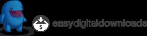 easy digital downloads logo
